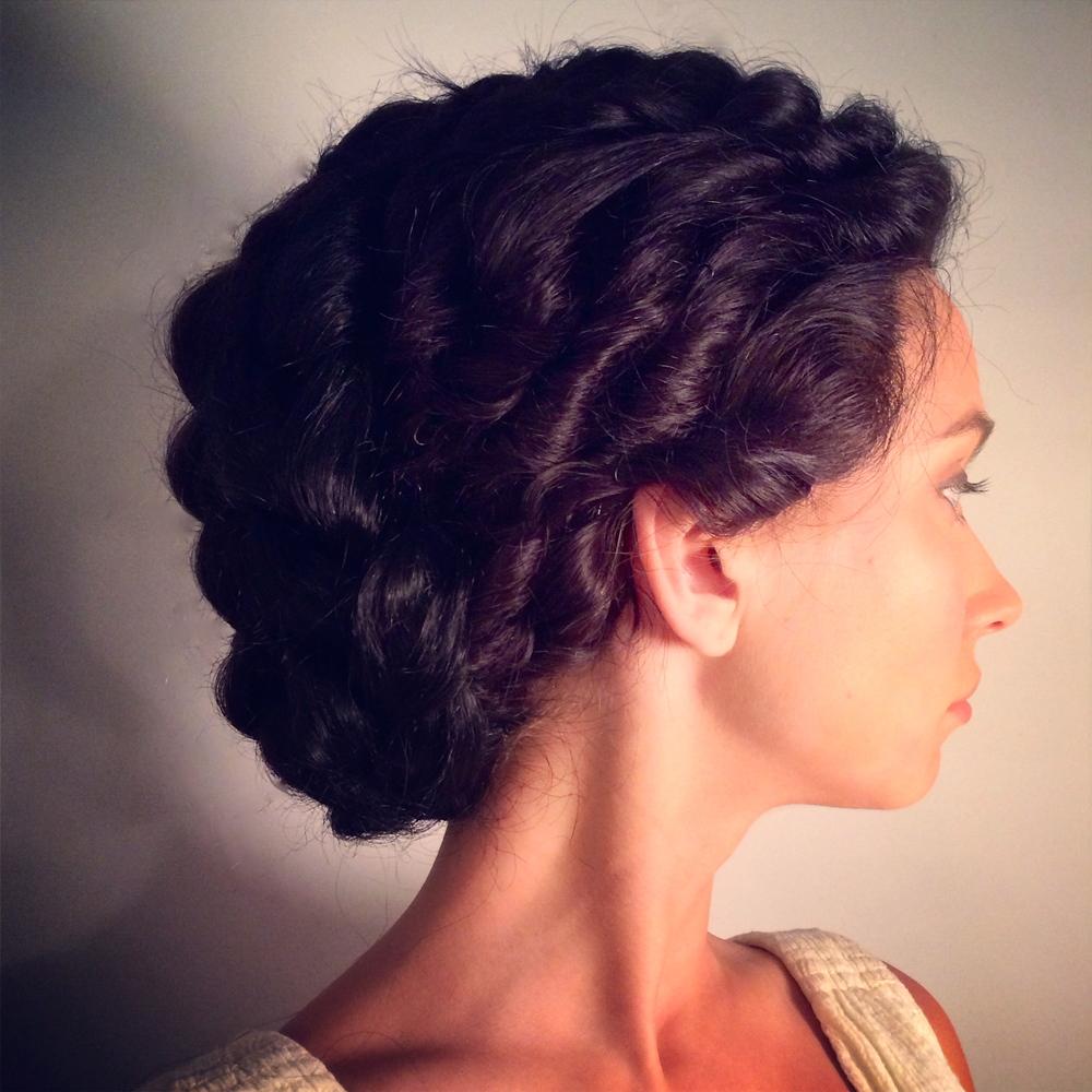 Greek Wig Style