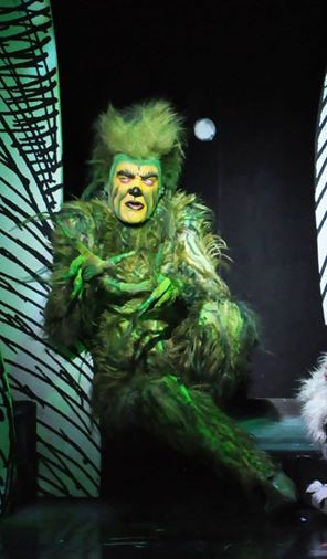 Stefan Karl as the Grinch in  How the Grinch Stole Christmas!    national tour 2013.  Photo by The Groovy Gringa