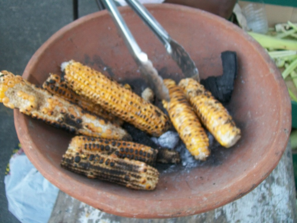 Clay Oven Roasted Corn