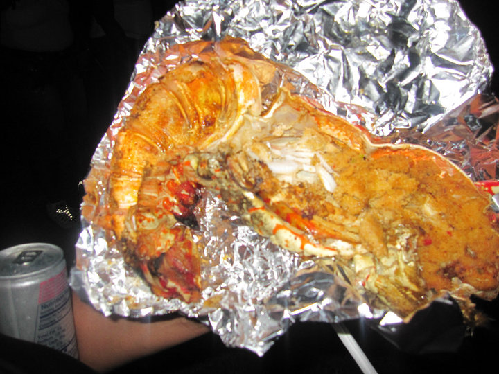 Barbequed Lobster