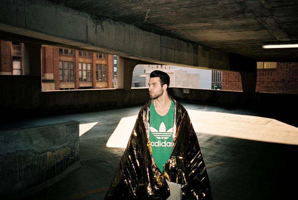Styling: Liz Gardner for Adidas Originals Photography:Ashley Camper Talent:Tyler from Ignite Models