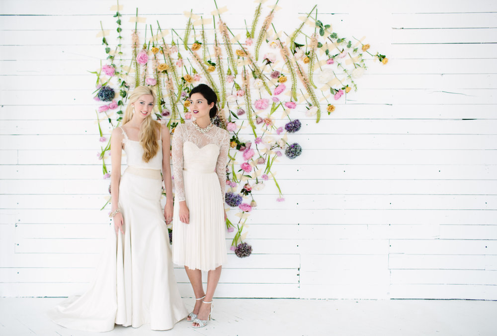 Creative Direction: Liz Gardner for  Mpls. St. Paul Magazine Wedding  Fashion Editor: Emily Sefton Stylist: Liz Doyle HMUA: Romeny Chan Floral: Munster Rose