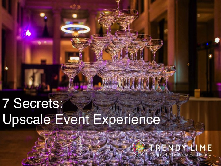 Blog Event Experience