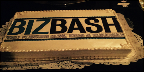 The BizBash cake at The Reserve