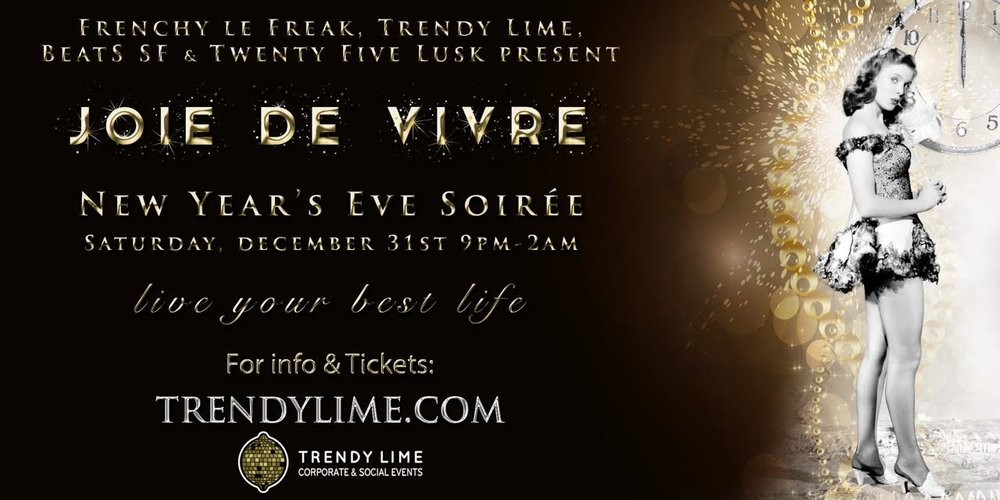 Trendy Lime NYE 2017