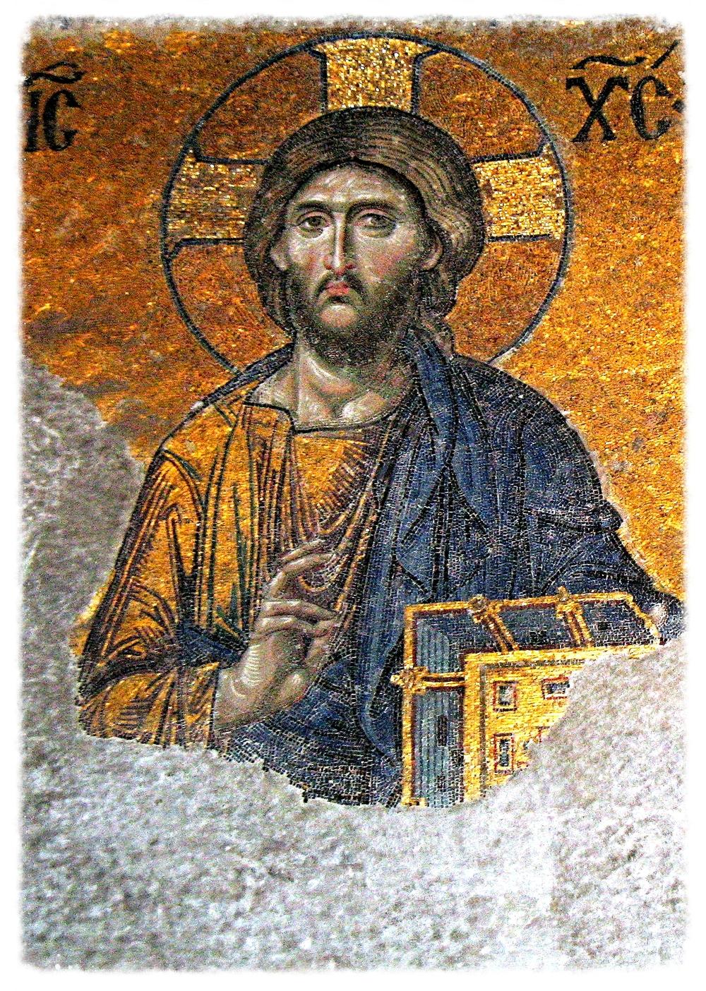 Christ Pantokrator 13th Century Hagia Sophia.jpg