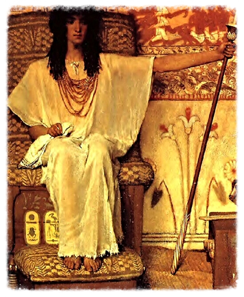 Joseph Overseer of the Pharoahs Granaries, by Alma-Tadema (1874) Cropped Resized.jpg