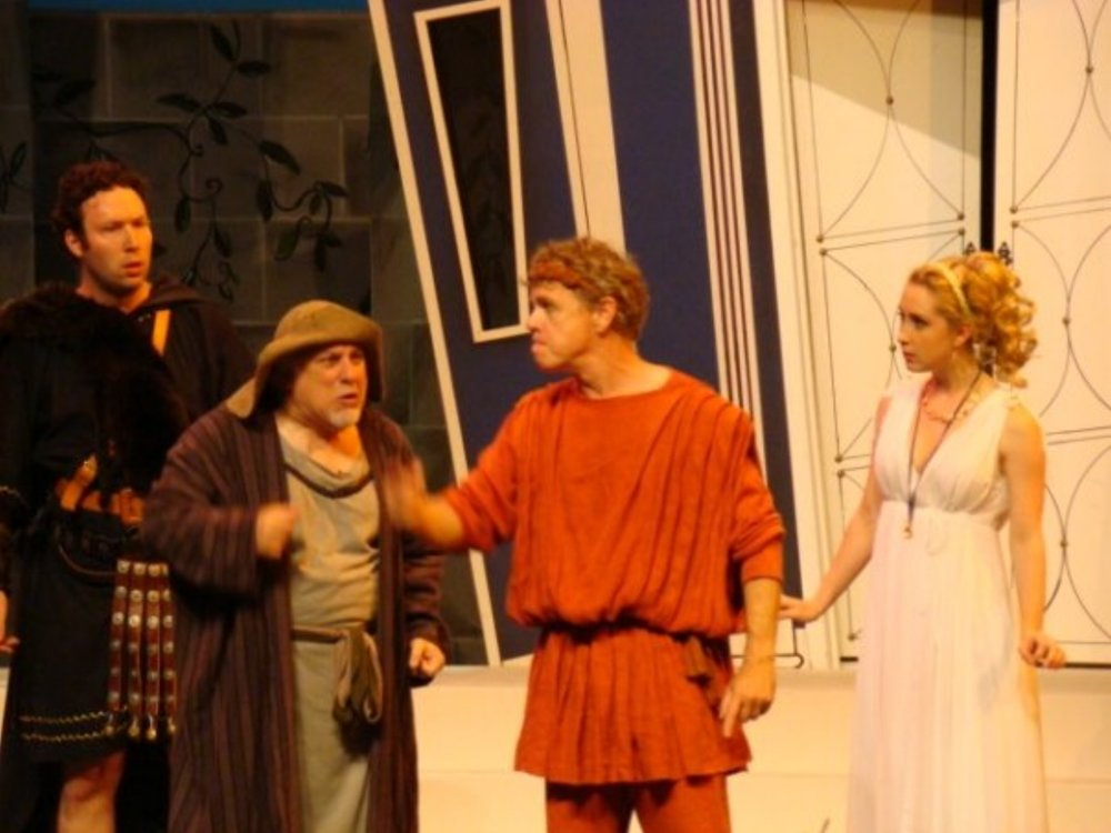A Funny Thing Happened On The Way To The Forum   By Stephen Sondheim Directed by Scott Lale Rose Theatre Brampton   ROLE:  Philia