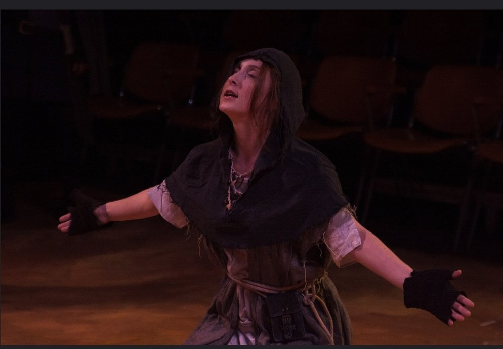 King John    By William Shakespeare Directed by Rick Barbour Great River Shakespeare Festival   ROLE:  Constance; Soothsayer (pictured here)