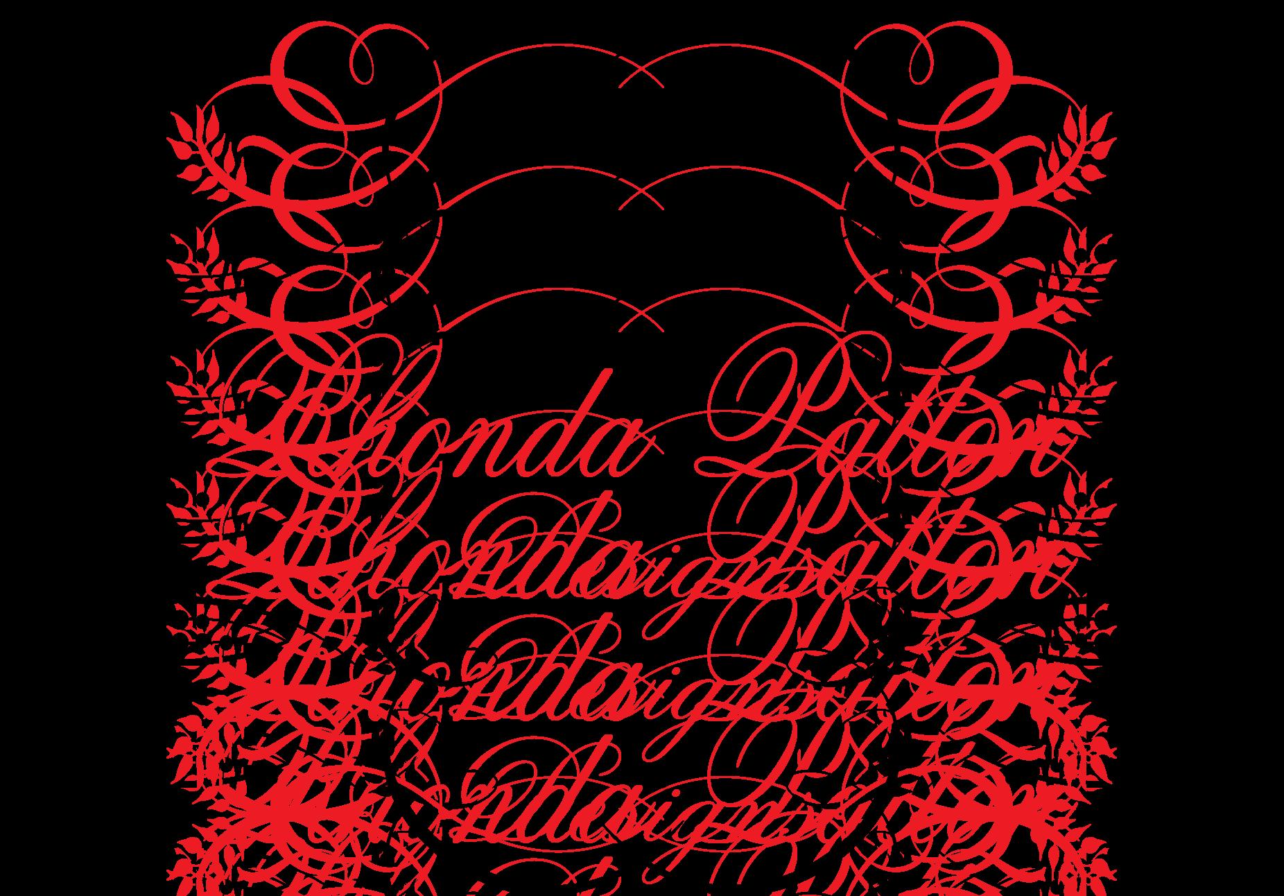 Floral Design Rhonda Patton Designs — Papered Wonders Inc