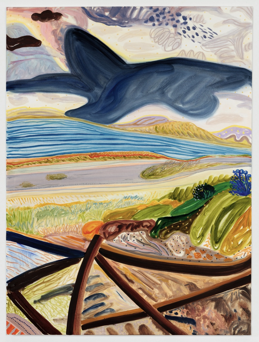 """Cloud Hely 2017 Oil on canvas 36"""" x 48"""""""