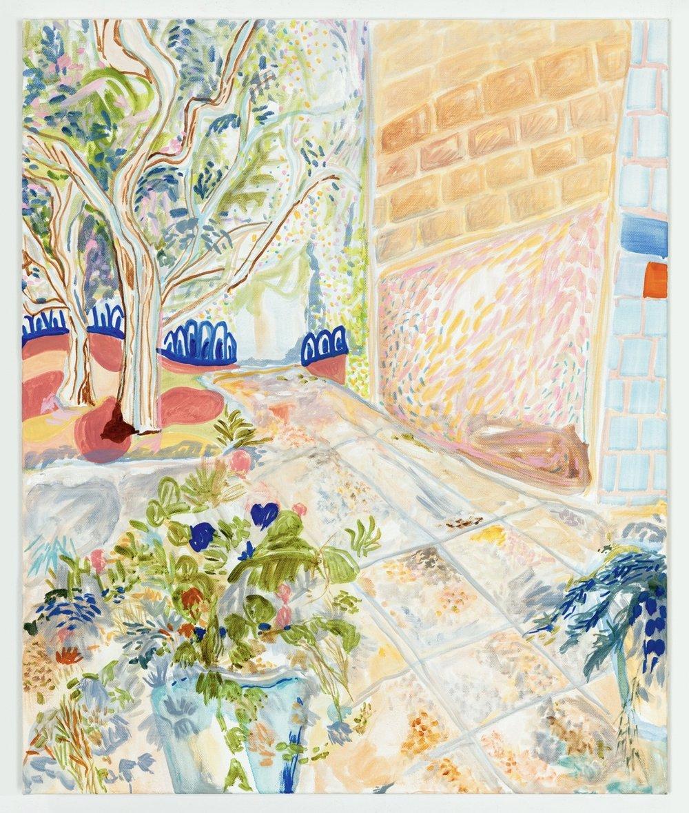 "Summer Garden II 2016 Oil on canvas 20"" x 24"""