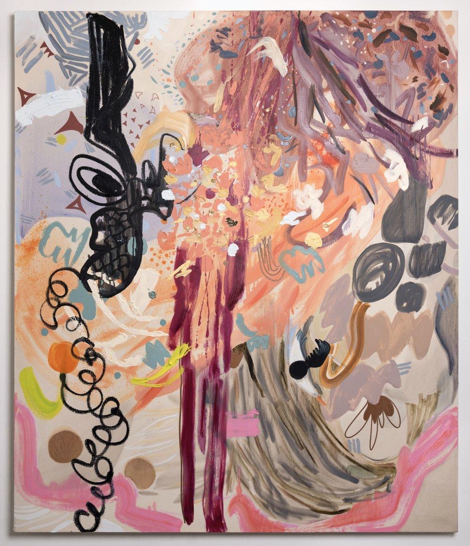 "Albatross, 2018 Oil on canvas, 50"" x 60"""