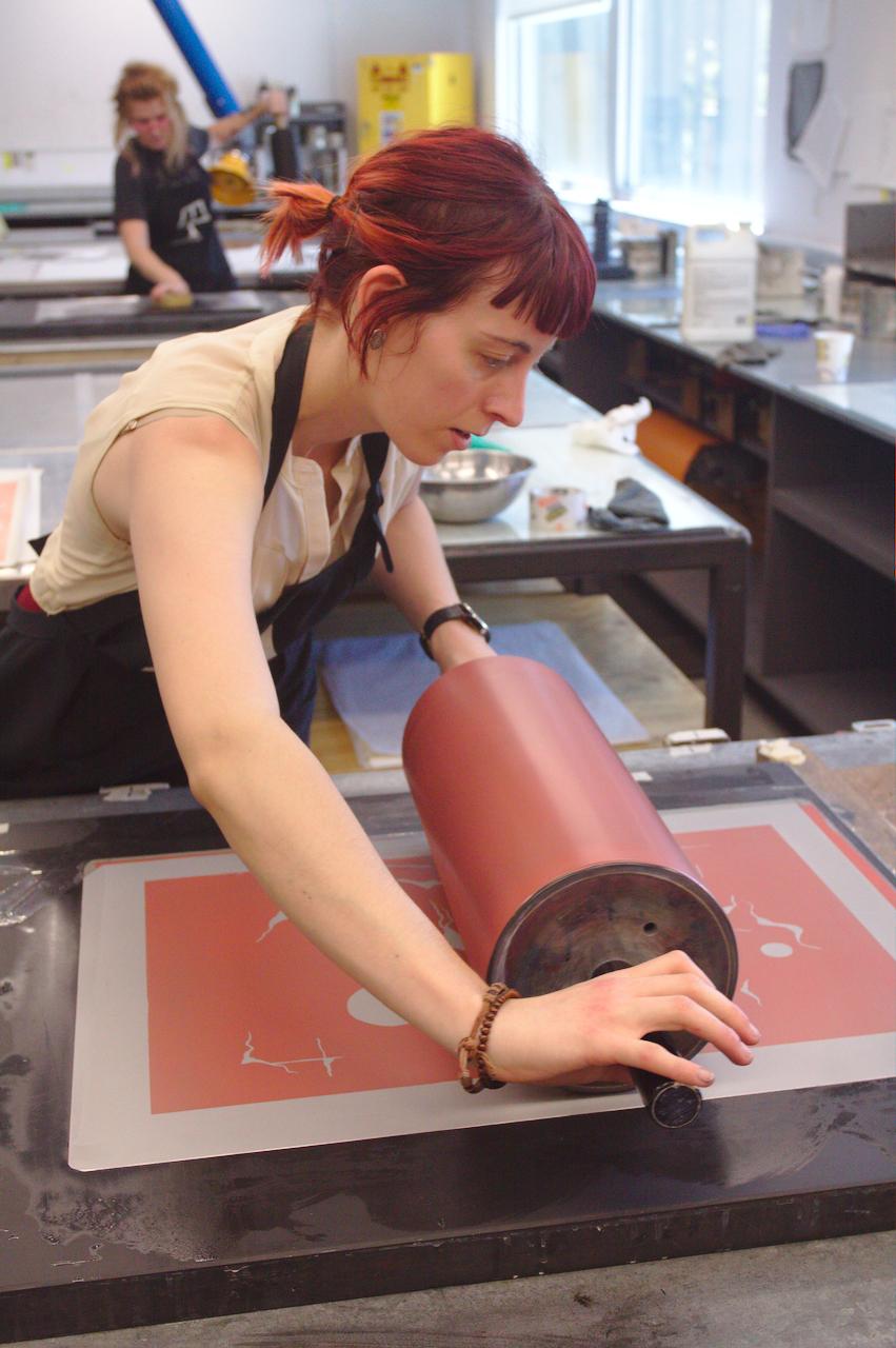 Printing the first run of  Satcitananda - NM .