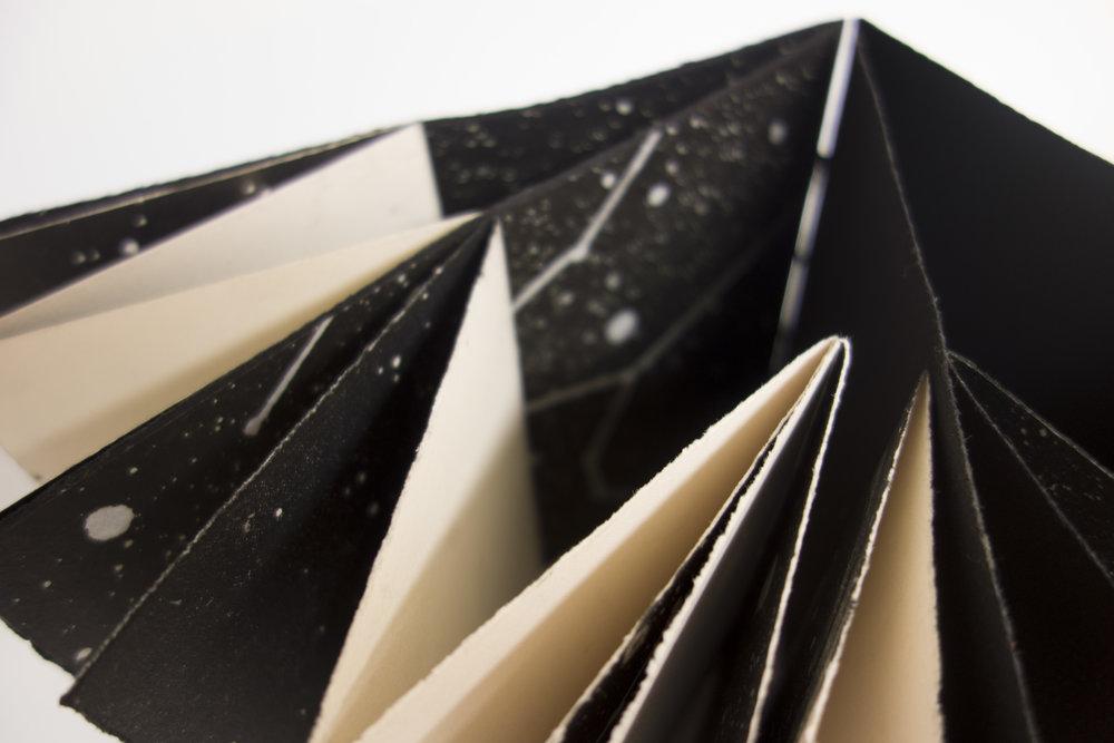 Paper Stars  2016 (Detail) Artist book