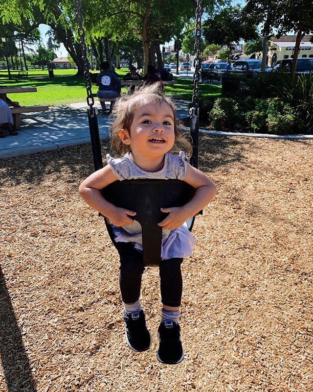Fun at the park with mah girls!