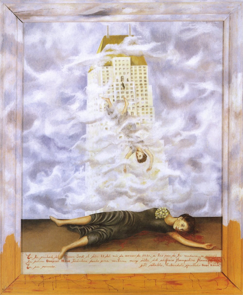 """The Suicide of Dorothy  Hale""--the game changing painting."