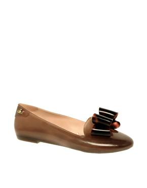 Vivienne Westwood for Melissa Virtue Flat Bow Slipper Shoes