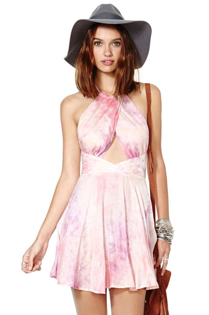 Nasty Gal Into the Sunset Dress
