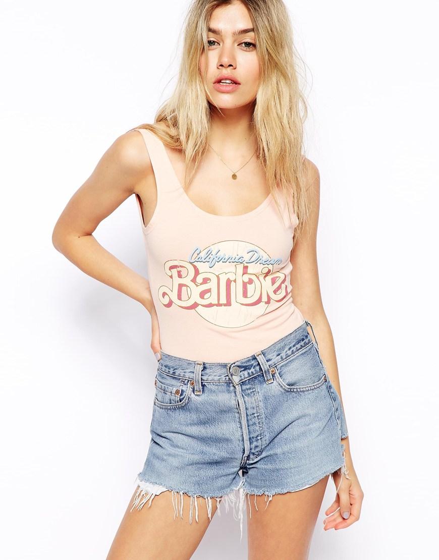 ASOS Body with Barbie PrintASOS Body with Barbie Print