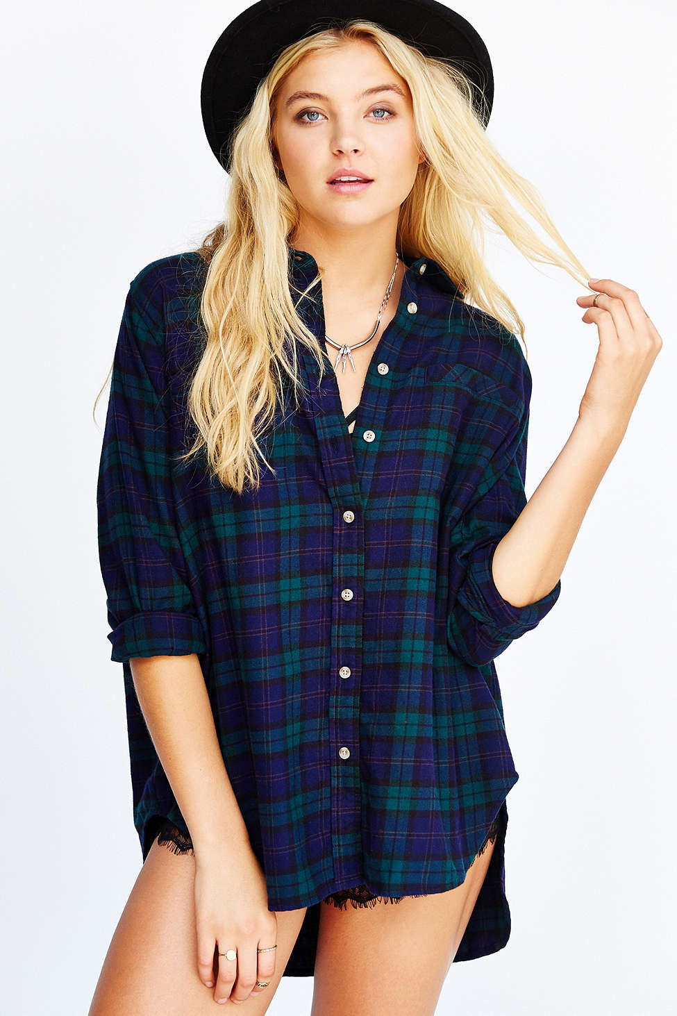 BDG Obie Flannel Button-Down Shirt   $49