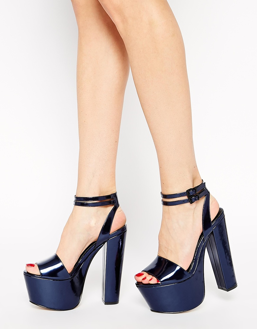 ASOS HEAD FIRST Heeled Sandals   $66.33
