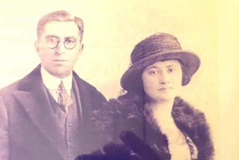 Edward and Anna Mitchell, nee Schwarzkoop circa 1044