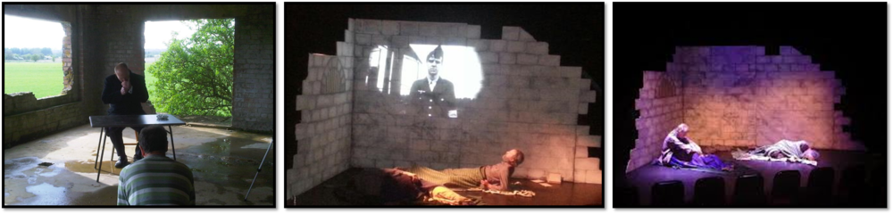 'Whatever Happened to Wallenberg' is a play is based on rumours of Holocaust Hero, Raoul Wallenburg's continued survival in the Gulag...