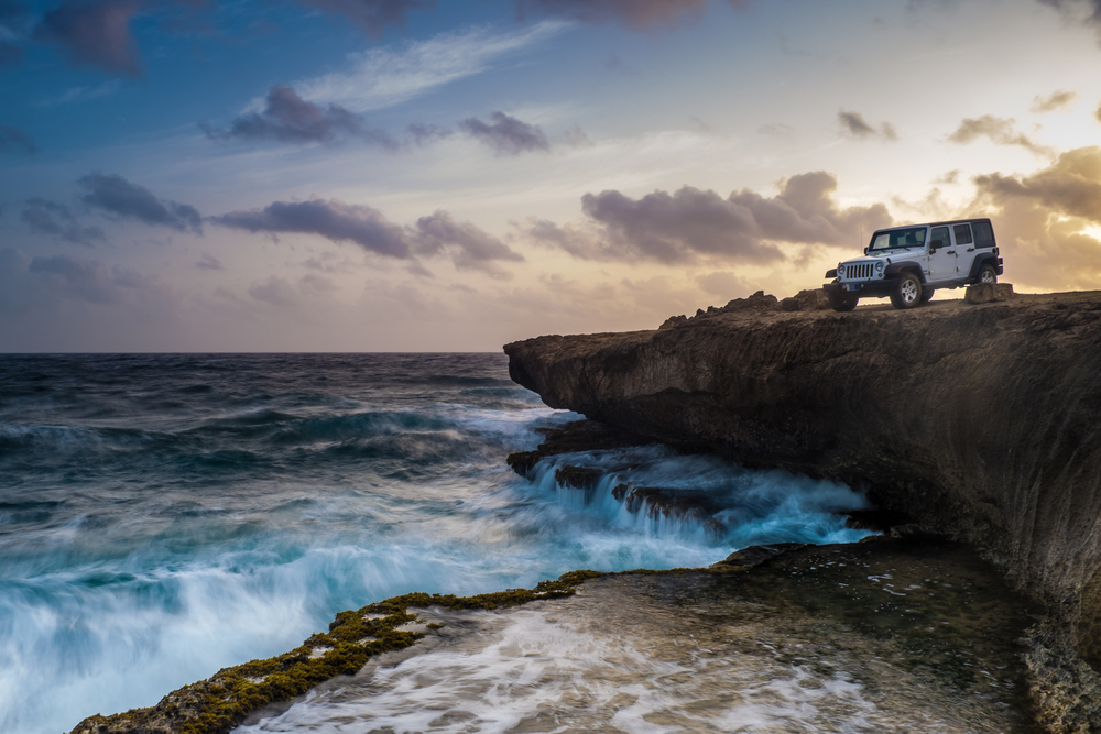 North coast of Aruba | Fuji X100s  ISO 200 19mm f/16 .5sec