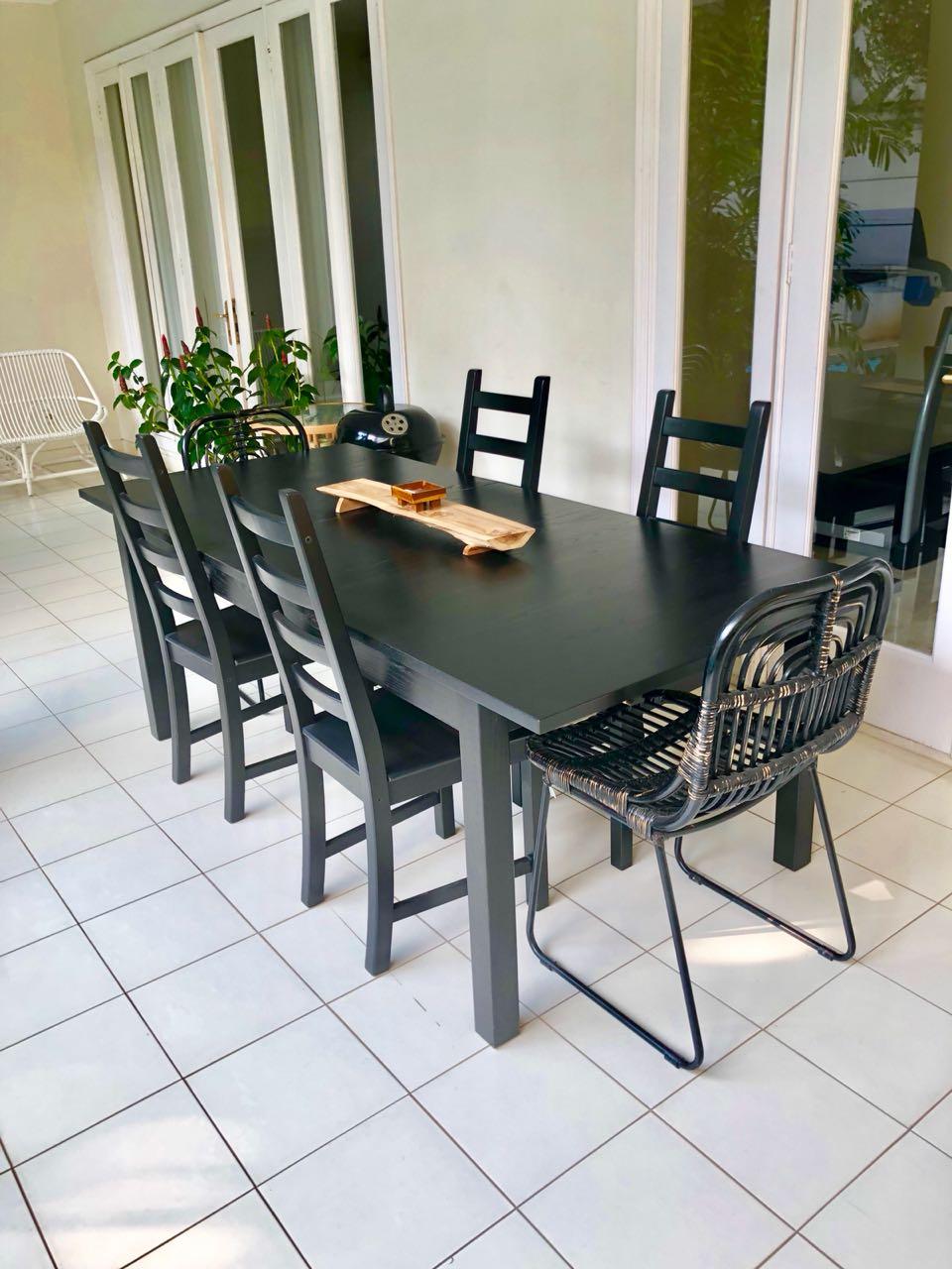4 Kaustby Ikea Chairs