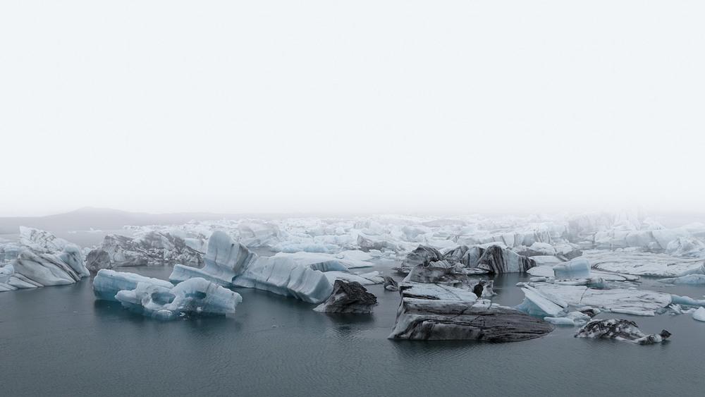 Jökulsárlón Iceberg Fog I