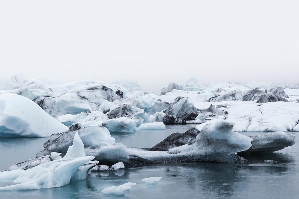 Jökulsárlón Iceberg Fog II