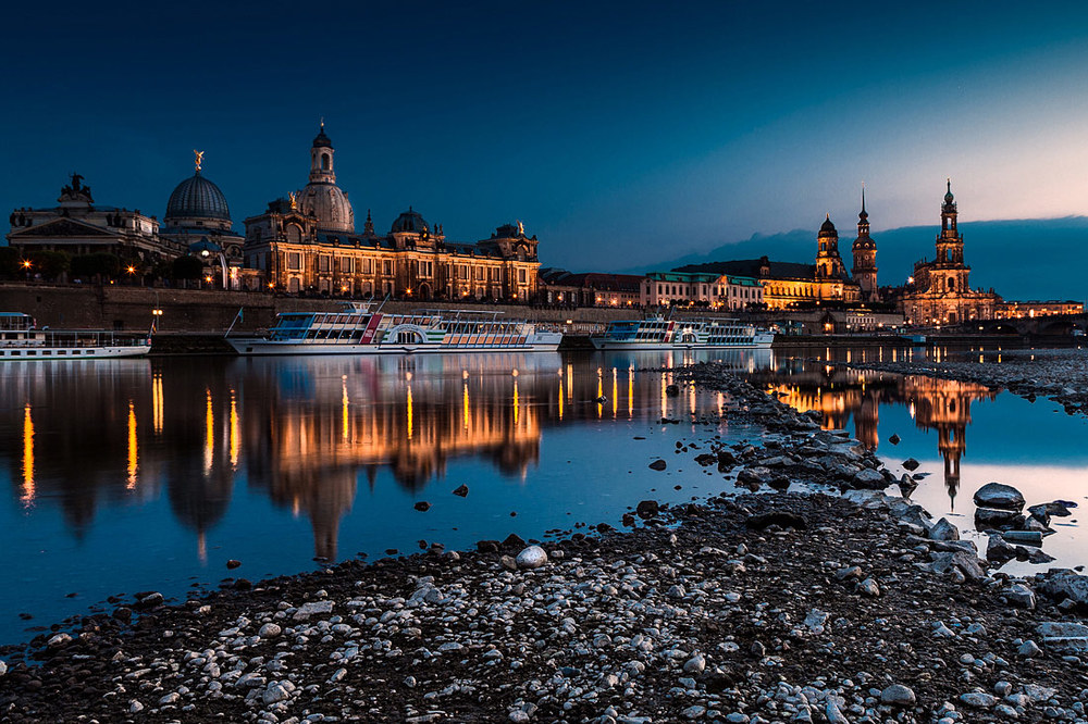 Dresden at Dusk II