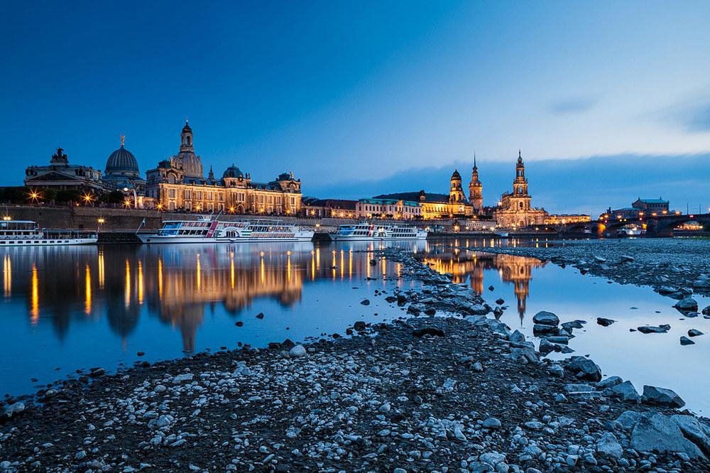 Dresden at Dusk I