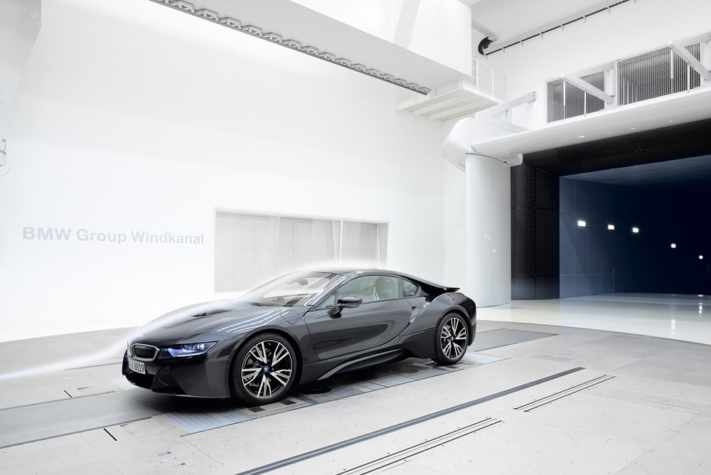 BMW Wind Tunnel | BMW i8