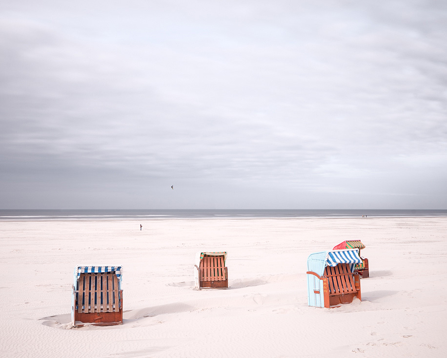 Beach Chair & Kite  (North Sea, 2014)