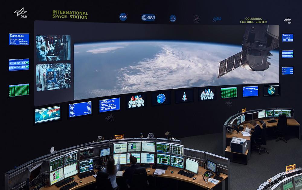 DLR Columbus Control Center
