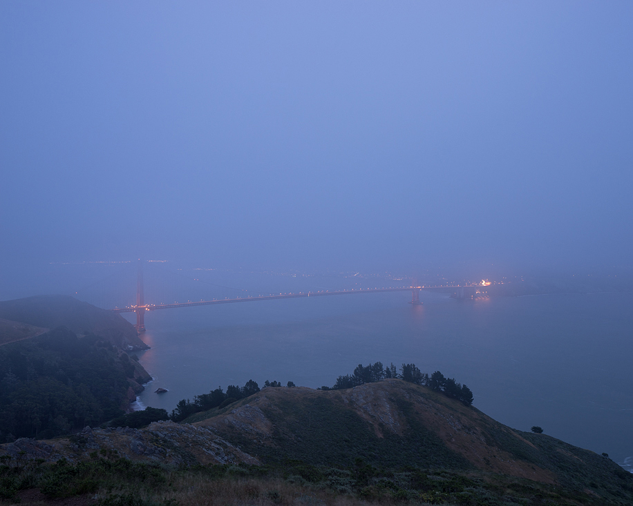Foggy San Francisco