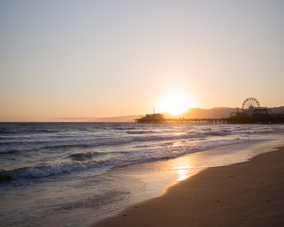 Venice Beach Sunset II