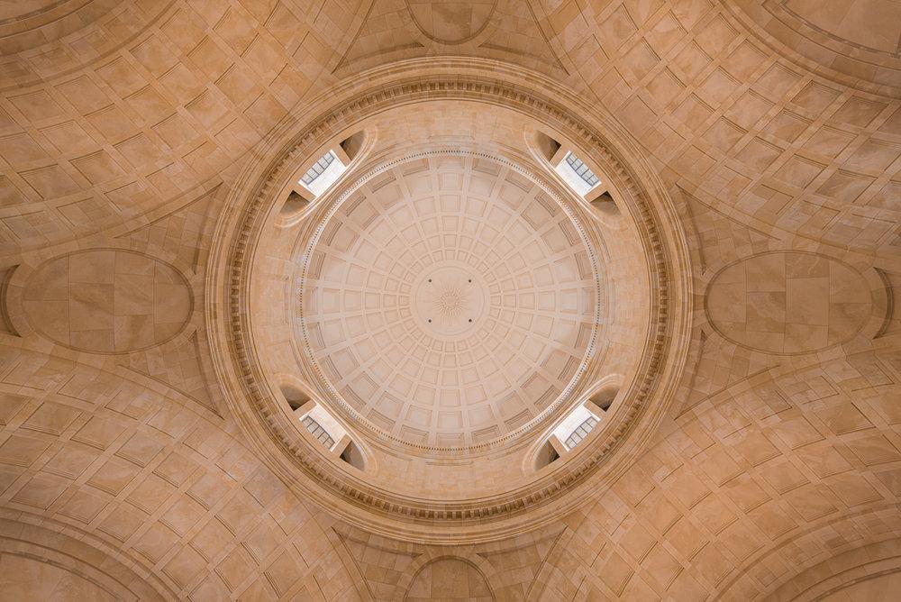Decke des Kuppelsaals