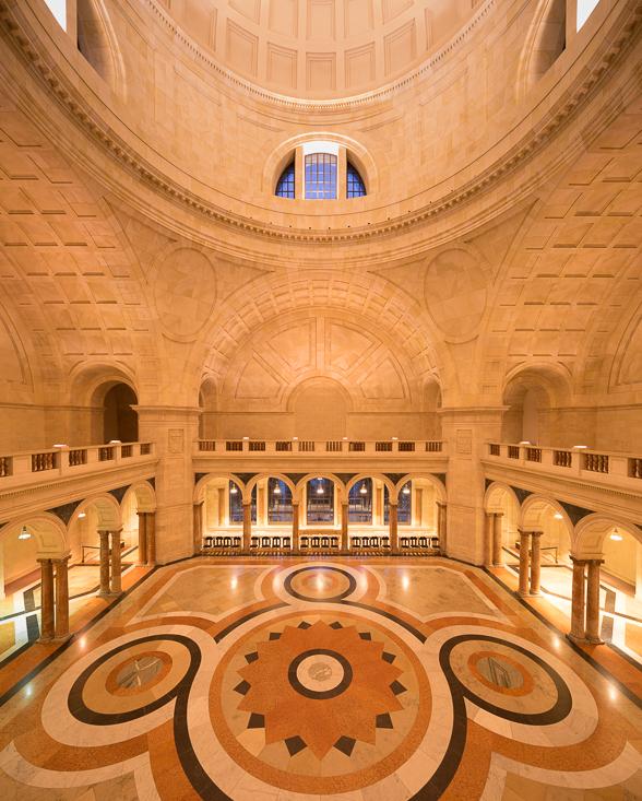 Innenansicht des Kuppelsaals