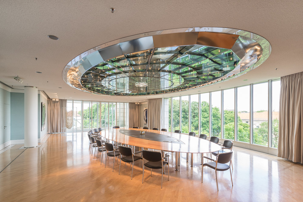 "Ministerratssaal mit ""Lichtkuppel"""