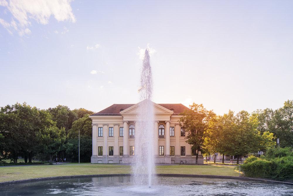 Prinz Carl Palais – Außenansicht