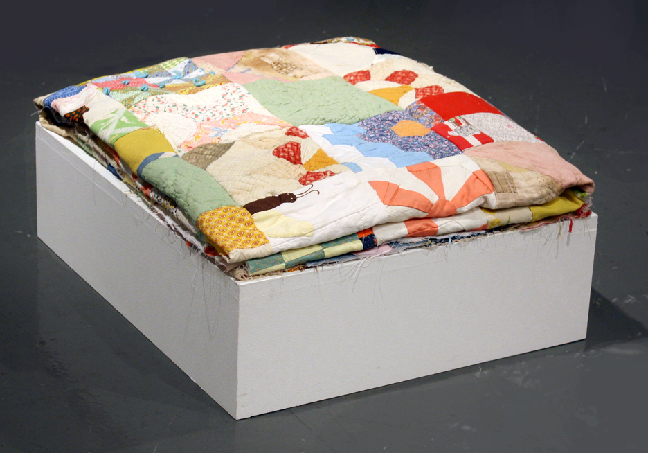 Reconstructed Mustered up Quilts
