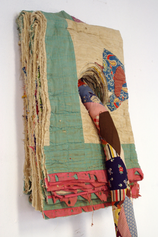 Rope Piece, After Robert Morris detail