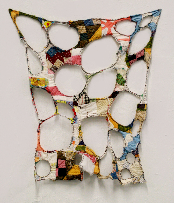 Deconstructed Mustered up Quilts from Kentucky