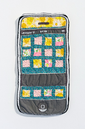 Quilted I Phone