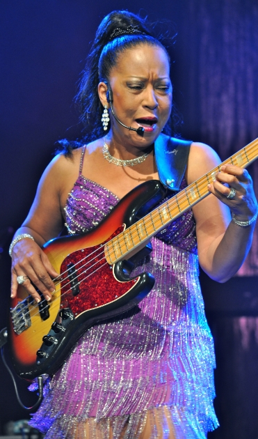 Bassist Janice Marie Johnson