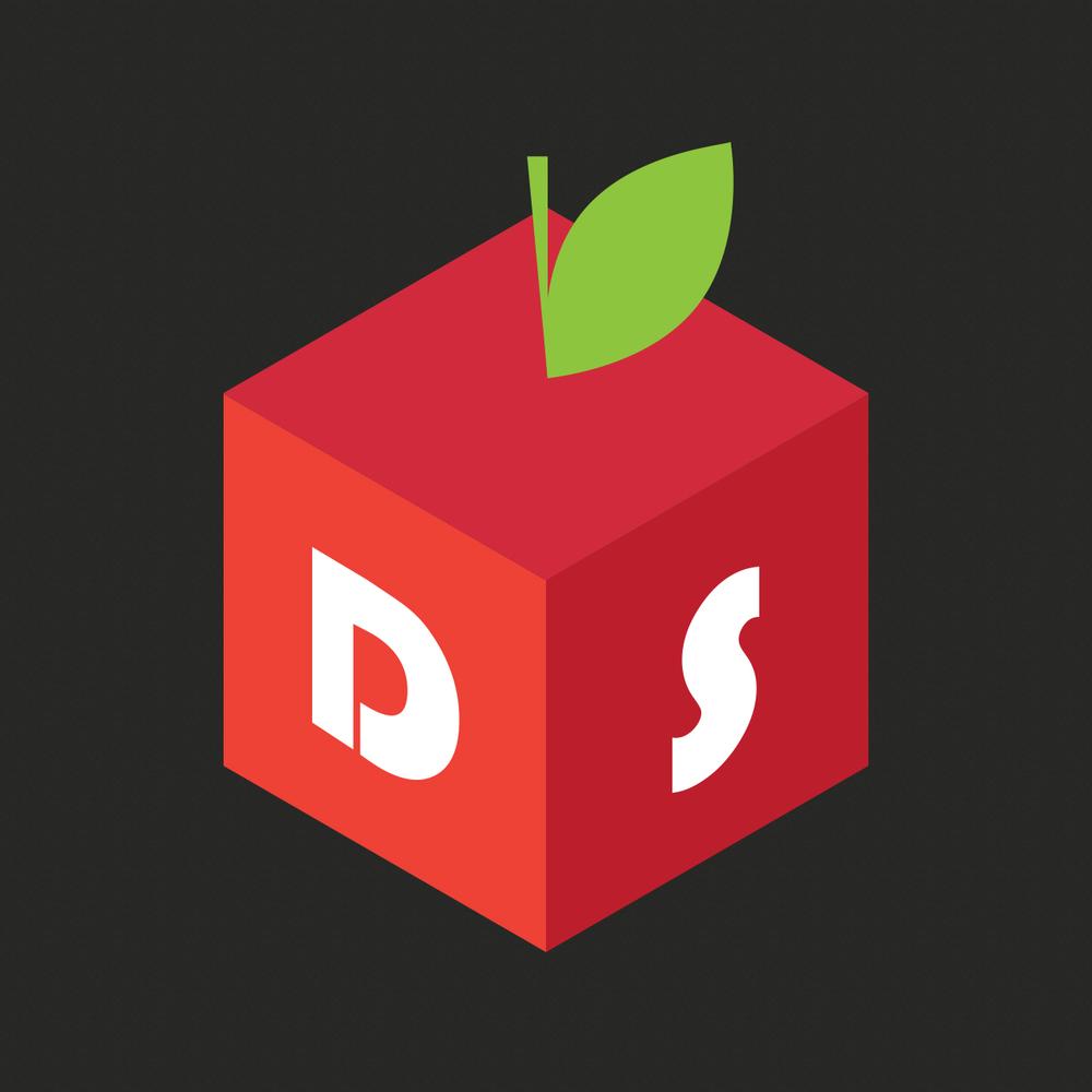 Логотип интернет-магазина диетических продуктов.