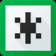 Новая версия   больше соответствует идее приложения. Она выполнена в корпоративных цветах и отдаленно напоминает предыдущую. Эта версия иконки является промежуточной, чтобы сделать ребрендинг наименее болезненным для девелоперов и пользователей.